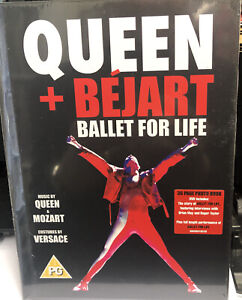 Queen + Bejart: Ballet For Life 36 Page Photo Book DVD - NEW AND SEALED Freepost