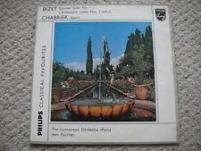 Fournet - cond  Bizet: Carmen Suite / L'Arlésienne Suite 1&2 LP Chabrier: España