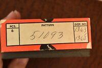 VINTAGE 1940-1985 ORIGINAL CASE XX USA PUMPKIN BOX STAG TOOTHPICK 51093 (725)