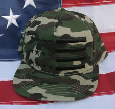 TACTICAL CAMOFLAUGE USA FLAG HAT CAP US ARMY MARINES NAVY AIR FORCE COAST GUARD