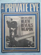 Private Eye, Heat, Waffen für Afrika. Nr. 237.15 Jan 1971, Mick Jagger Film. Logue Märchen