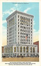 USA National Bank Building New Home Saginaw's Oldest institution Michigan