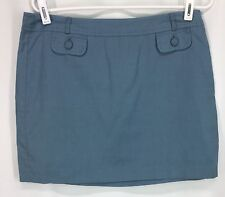 Banana Republic Blue Short Skirt Womens Size 8 See Tag Photos For Fabric