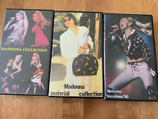 Madonna Video Collection Lot Live & More- Barcelona 1990 VHS