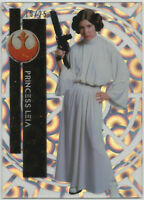Star Wars High Tek 2015 ~ CLOUDS DIFFRACTOR Base Card #2 Princess Leia (#15/25)