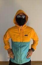 Patagonia Jacket Medium Men's Weather Resistant Yellow-Sea Color