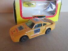 949G Burago 4126 Porsche 959 Rallye # 180 Amarillo 1:43