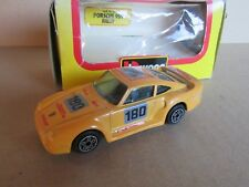 949G Burago 4126 Porsche 959 Rallye # 180 Jaune 1:43