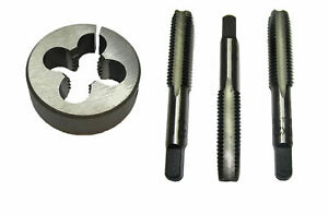 RDG BSF TAPS AND DIES ALL SIZES SET OF 3 TAPS OR SPLIT DIE FIRST SECOND PLUG