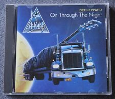 Def Leppard, on through the night, CD