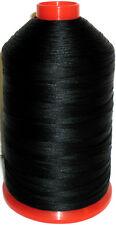 BLACK STRONG BONDED NYLON THREAD 30'S, 3000 MTRS, UPHOLSTERY, ART IT30