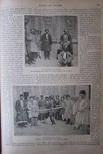 JOURNAL DES VOYAGES KURDISTAN TORTURES DECAPITATION BASTONNADE  N° 998 de 1896