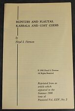 Blintzes and Flauta Kabbala and Cost Codes Floyd Fierman 1980 Password Jewish