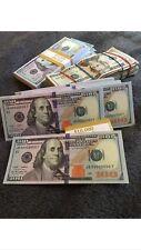 High Quality! Prop Money Movie Full Print Best Quality Price 1 - 100 Dollar Bill