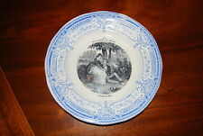 EXCEPTIONAL CREIL MONTEREAU THE PLEASURES OF HOUSEHOLD WALL OR CABINET PLATE #6