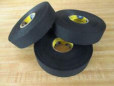 "Black Hockey Tape - 1"" x 30 Yards - 3 Rolls - Howies Hockey Tape"