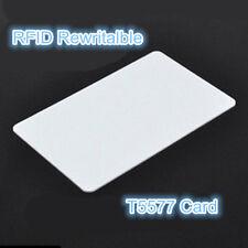 RFID 125KHz Writable Rewrite T5577 card Proximity Access card-10pcs