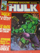 Rampage MAGAZINE mettant en vedette l'incroyable Hulk - N°15 DATE 09/1979 - GB
