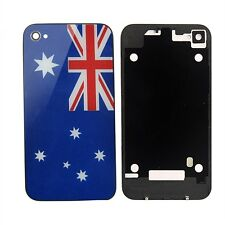 iPhone 4S Australian Flag Glass Replacement Back Battery Cover Rear Assembly.