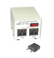 New Philmore ST100 100 watt 110/220 Step Up or Step Down Transformer