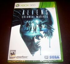 ALIENS COLONIAL MARINES Alien Space War XBOX 360  XBOX360 Microsoft Game NEW