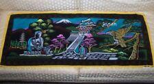 Decorative Japan Wall Hanging Tapestry Mount Fuji Hawk or Eagle Japanese