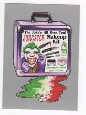 2017 Wacky Packages 50th Anniversary silver parallel Jokester Makeup Kit 37/50