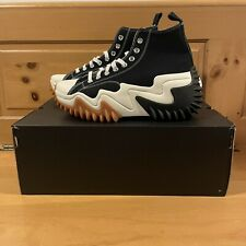 Converse Men's Run Star Motion Hi 171545C Black White and Gum Shoes Size 9