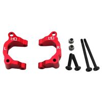 Hot Racing ARM1902 Arrma ADX-10 Raider Red Aluminum Big Bearing Front Uprights