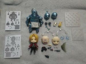 Authentic Fullmetal Alchemist Nendoroids: Edward Elric and Alphonse Elric