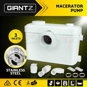 600W Macerator Sewerage Pump 270L/min automatic flushing Toilet Disposal Water