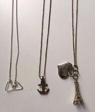 BELLISSIMA Collana Accessorize Donna Bundle-cuori, Torre Eiffel e Anchor