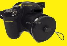 SLIP-ON LENS CAP TO CAMERA FUJI S2800 S2850 S2500 S2700 S2600 S2900 HD+HOLDER