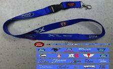Classic Ford Vehicles Red Logo Lanyard