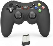 Controlador de juego PC inalámbrico OEM jogos Bluetooth Gamepad Nuevo-Negro