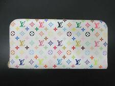 Auth Louis Vuitton Monogram Multicolore Portefeuille Insolite M93750 Good 85633