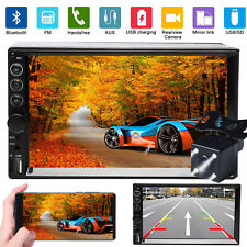 Double Din Car Stereo Car Radio Bluetooth FM AM MP5 Player Mirror Link For GPS