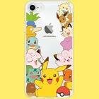 Genuine Pokemon Pattern Clear Case iPhone 12 Pro Pro Max 12 mini made in Korea