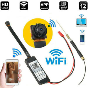 Mini Spion Kamera Wireless WiFi WLAN IP Überwachungkamera Hidden Camera HD 1080P