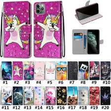 For iPhone 11 Pro Max X XR Xs 6 7 8 SE 2020 Magnetic Flip PU Leaher Phone Case