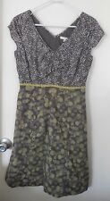 BODEN 100% Cotton Patterned Hopscotch Lined Dress ~ Women's 4R