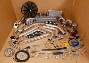 FOR Honda Civic D16 D15 RAMHORN RAM HORN COMPLETE TURBO KIT TURBOCHARGER