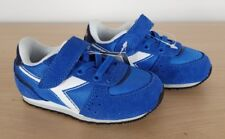 Diadora Rare Kids Infants Boys Malone Blue Retro Sports Trainers, UK 5 EU 22