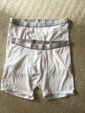 Two Pairs Men's calvin klein underwear brief Low Rise Trunk Size Large Brand New