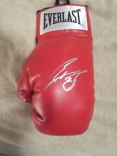 LUIS ORTIZ SIGNED BOXING GLOVE WITH EXACT PHOTO MATCH 1000% AUTHENTIC