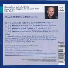 Bach Soli Deo Gloria CD Johannes-Passion Matthaus-Passion Peter Dihkstra NEW box