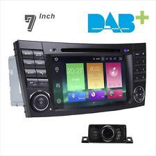Car Stereo DAB+ Radio Head Unit  For MERCEDES W211 W219 W463 DVD GPS SATNAV USB