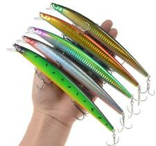5PCS Big Minnow Fishing Lure 18cm 23g Isca Artificiais Hard Bait Crankbaits Bass