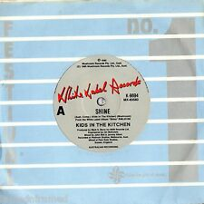 """KIDS IN THE KITCHEN - CURRENT STAND - 7"""" 45 VINYL RECORD - 1985"""