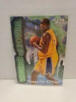 1996-97 Fleer Towers of Power #7 Shaquille O'Neal Lakers HOF